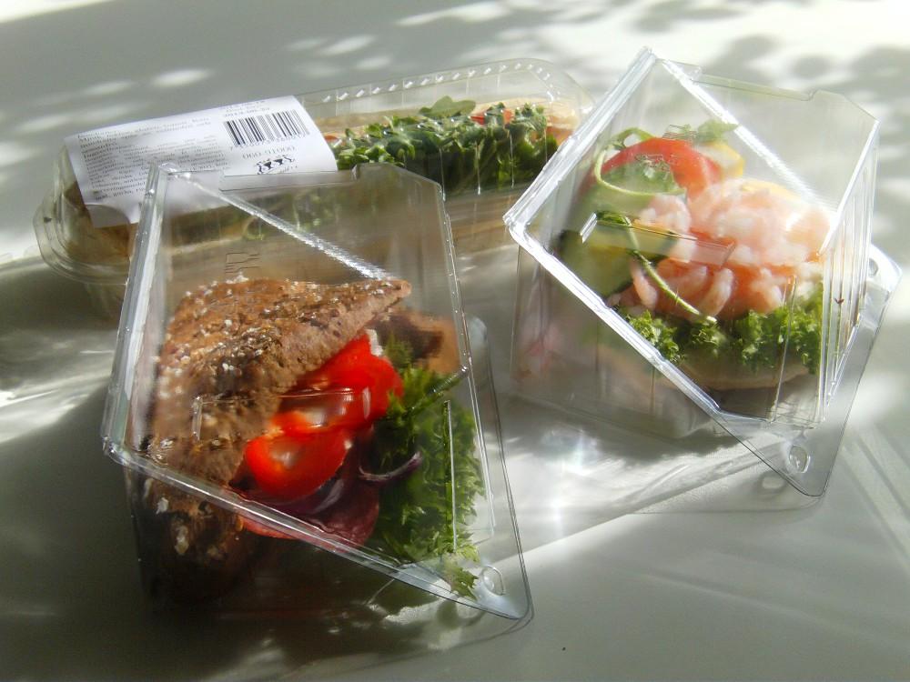 Förpackade smörgåsar